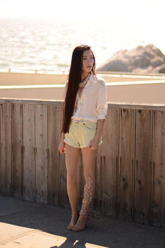 Jennifer Wang wearing bebaroque Rachel tight