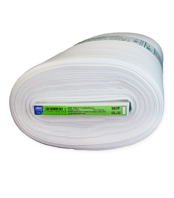 "Pellon® 987F Fusible Fleece, White, 45"" x 10yd bolt"