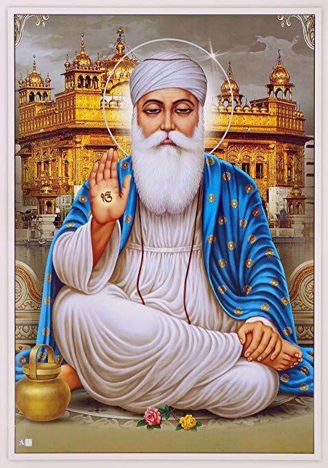 Guru Nanak Dev Ji 550th Birth Day Celebrating Images Info4u In 2020 Nanak Dev Ji Dev Ji Guru Nanak Wallpaper