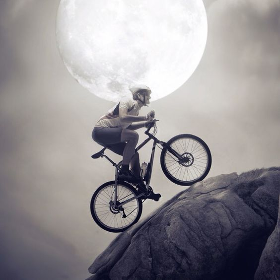 Mountain biking according to Pimp your Screen.