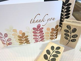 Ink color beautiful and ferns on pinterest for Impress cards and crafts