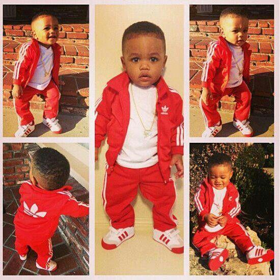 Baby got swag,  lol
