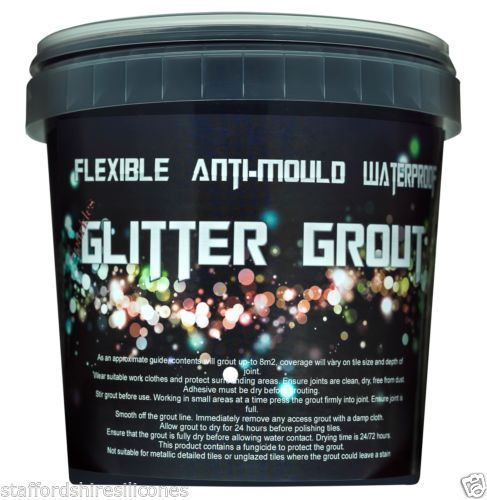 Details about glitter grout ready mixed wall floor mosaic cheap ...