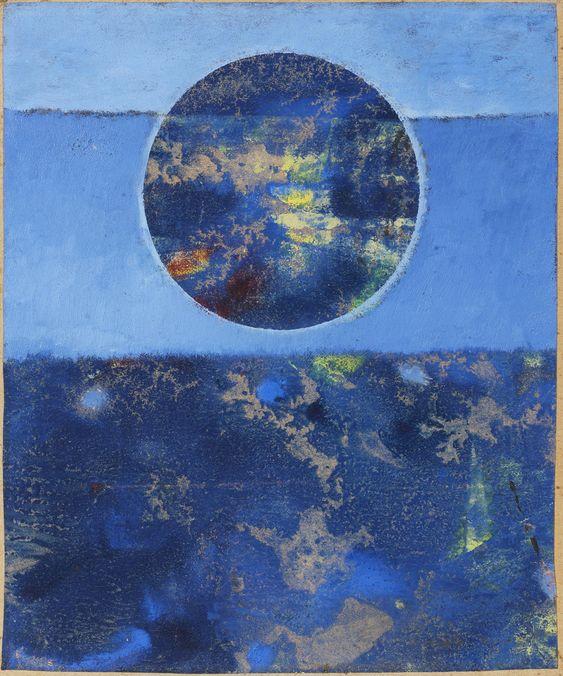 Max Ernst - Violette Sonne, c.1962