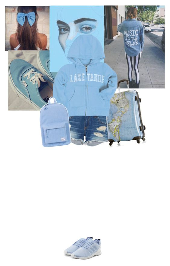 """""""//traveling above the clouds//"""" by the-midnight-garden ❤ liked on Polyvore featuring Vans, rag & bone, Heys, adidas Originals and Herschel Supply Co."""
