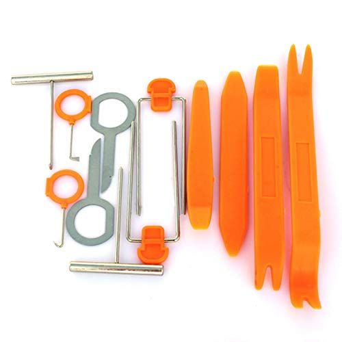 12pcs Car Door Clip Panel Radio Removal Tool For Kia Rio K2 K3 K5