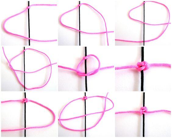 La Mercerie de Moumy: {Tutoriel} Fabriquer ses Bracelets Shamballa