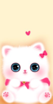 Pin By Lysha Fetty On Cats Melody Cute Cartoon Wallpapers Cute Wallpapers Cute Animal Drawings