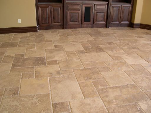 Travertine pattern floor | ... jpg versailles pattern travertine floor 8301  tile floors patterns