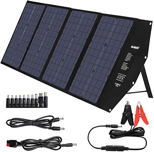 Chic Suaoki 100w Foldable Solar Panel Charger For Suaoki Portable Power Station Jackery Explorer Goal Zero Yeti In 2020 Solar Panel Charger Solar Charger Solar Panels