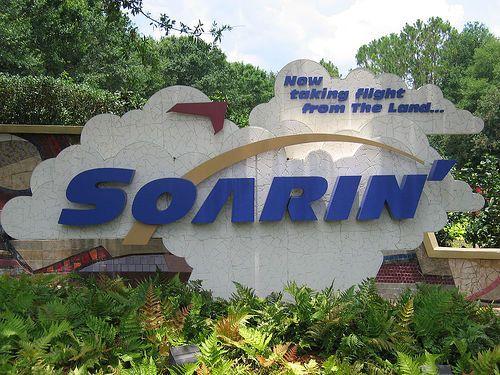 Review of Soarin' Ride at Walt Disney World's Epcot, Florida
