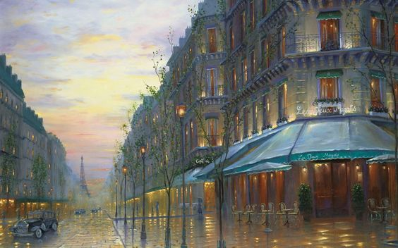 Cafe de Paris, by Robert Finale
