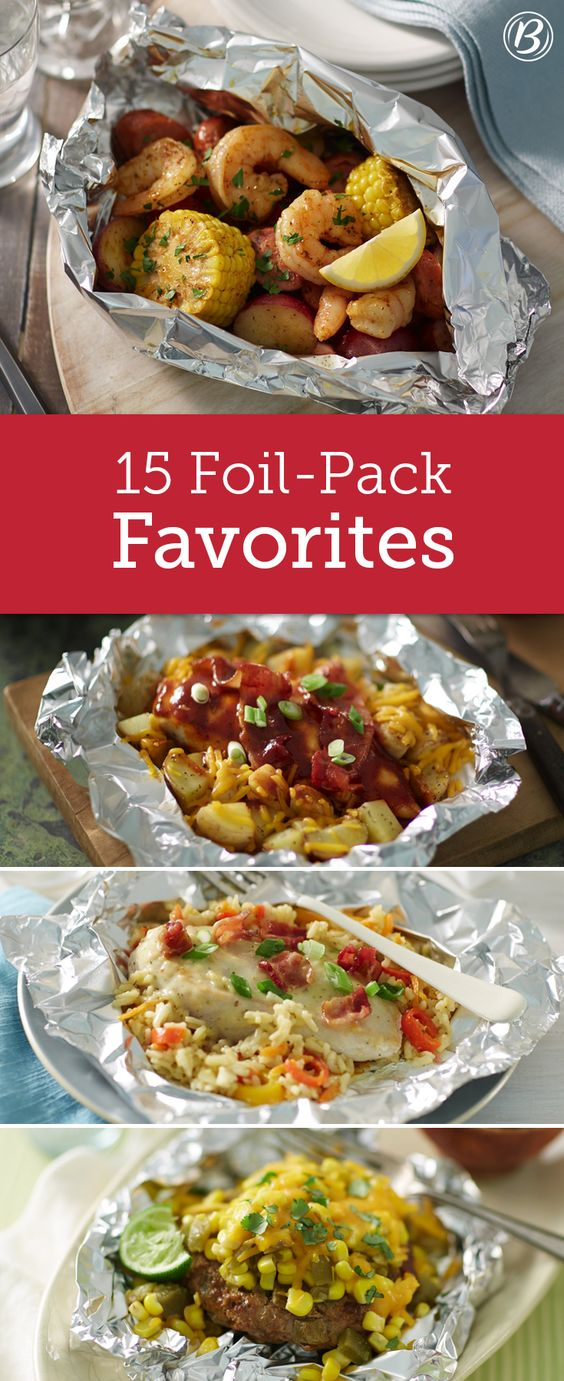 With minimum effort and practically no cleanup, these foil-pack dinners make for the ultimate weeknight meal or summer party main attraction! Don't have a grill? Many of these recipes can be cooked to perfection in the oven--expand the Expert Tips section