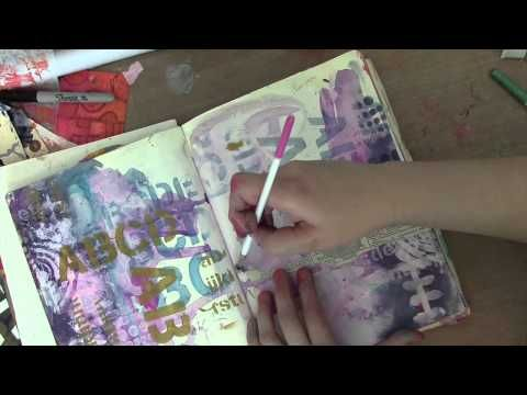 Dina Wakley Media Week | Introduction to Dina Wakley Metallics | Ranger Ink and Innovative Craft Products