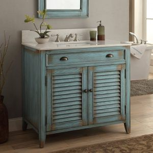Bathroom Vanity Cabinets That Look Like Furniture Rustic