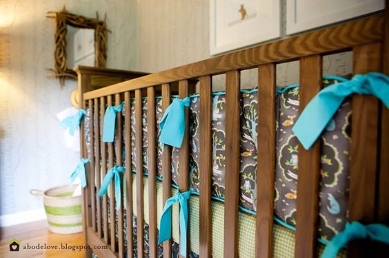 abodelove.blogspot.com #nursery #woodland #bumperpads: Abodelove Blogspot, Baby Room, Abodelove Com, Woodland Bumperpads, Blogspot Com16, Kids Rooms, Baby Nurseries