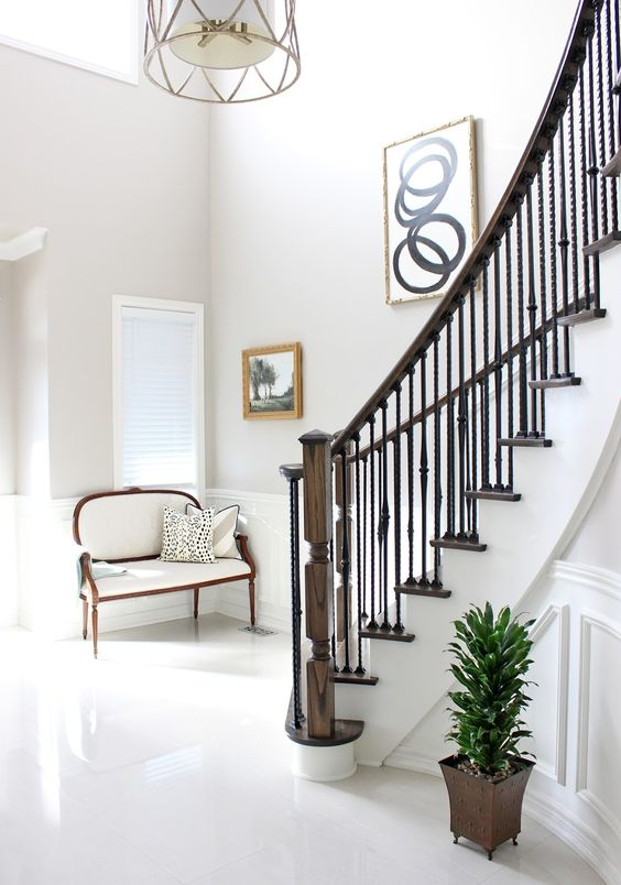 chic living // staircase