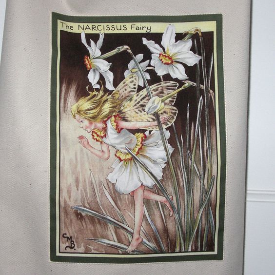 FEB 2012, Wales - Narcissus Flower Fairy Apron, by Sew Surplus