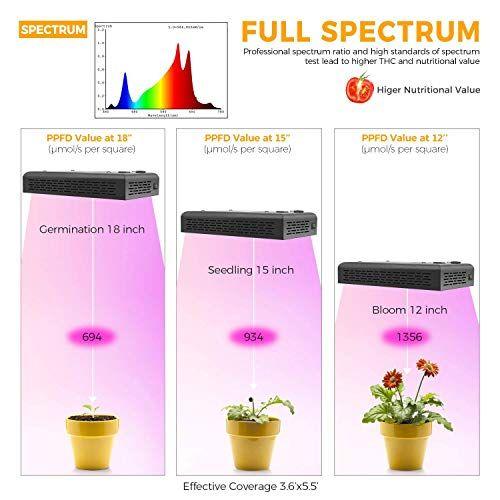 Led Horticole Quelle Lampe De Croissance Et De Floraison Choisir En 2020 Led Horticole Led Croissance