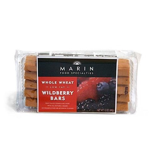 Marin Wildberry Bars Gluten Free (6x13Oz)