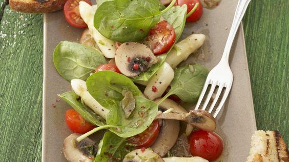 Kochbuch: Spargelsalat-Rezepte | EAT SMARTER