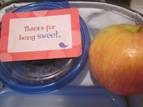 My kids love their Lunchbox Love notes!
