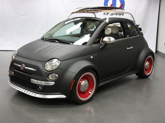 Small Cars Are Beautiful Fiat Mopar 500c Beach Cruiser En 2020