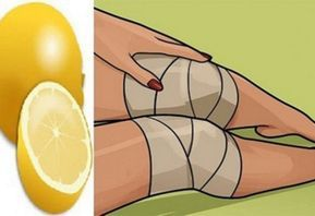 Image result for so werdet ihr knieschmerzen mit zitrone