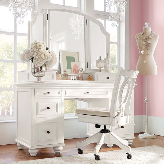 Ultimate Beauty Vanity From Pbteen: Pb Teen, Desks And Grey On Pinterest