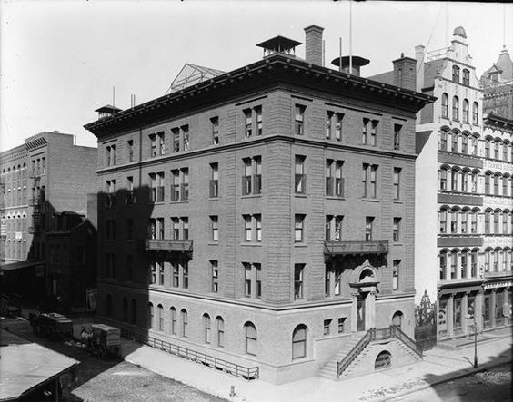 Daytonian in Manhattan: The 1894 House of Relief -- Nos. 67-69 Hudson St.