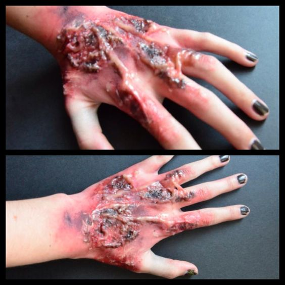 Halloween] Cut/Gash Special Effect Makeup Tutorial | Moulage ...
