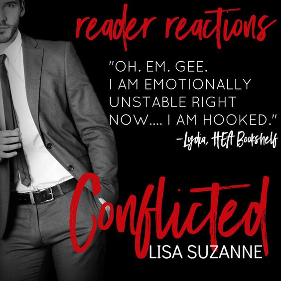 #BookReview: CONFLICTED by @LisaSuzanne24