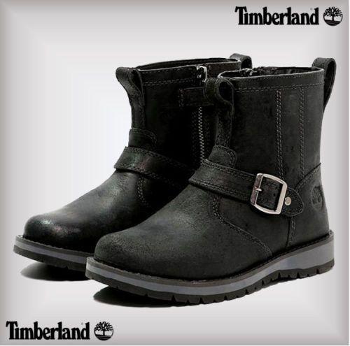 Già Peregrinazione È  Junior Timberland Kidder Hill Jet Black Ankle Boots Girls Ladies Boys RRP  £89 #Timberland #Boots | Boots, Girls ankle boots, Timberland kids shoes