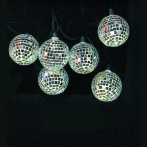 Kurt S. Adler 11.5 ft. 10-Light Flashing LED Mirrored Ball Ornament Set  Model # UL1877CInternet # 203480232   Write The First Review  $28.98 /ST-Set