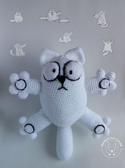Gato (Simon's Cat) Amigurumi