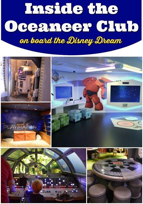 Inside The Disney Dream: Oceaneer Club On The Disney Dream