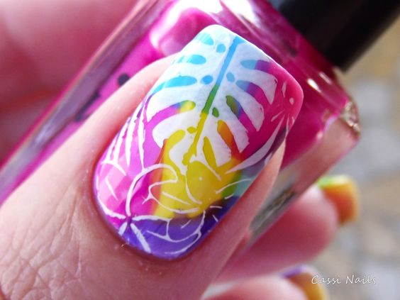 Cassi Nails: TC Colors Whatcha, Tropical 04