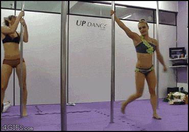 original gif: http://i.imgur.com/qvXly.gif: Pole Dancers, Dance Pictures, Pretty Girl, Girls Girls, Gifs Gymnastics, Girl Dancing, Girls Photo, Olympic Event