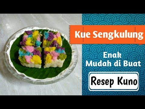 Cara Membuat Kue Sribu Yang Enak Kue Sengkulung Khas Kota Bondowoso Youtube Bahan Bahan Kue Kue Resep Kue