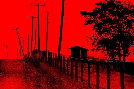 Paisagem em Vermelho