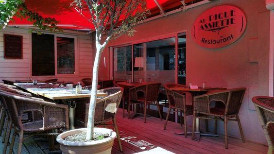 Aller dîner sur la terrasse du Pique Assiette @AuPiqueAssiette @Arcachon