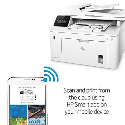 Hp Laserjet Pro M227fdw All In One Wireless Laser Printer Amazon Dash Replenishment Ready G3q75a Replaces Hp M225dw Las Mobile Print Laser Printer Wireless