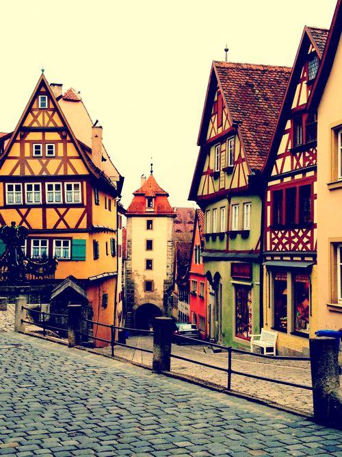 Rothenburg ob der Tauber, Duitsland. https://www.hotelkamerveiling.nl ...