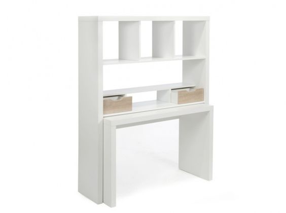 Bureau extensible alinea liebe home fourniture for Bureau extensible