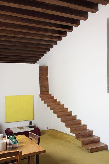 Casa Estudio Luis Barragan by Aarón Ornelas, via Flickr Treppen Stairs Escaleras repinned by www.smg-treppen.de