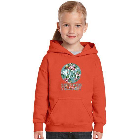 5SOS Vintage Logo Kids Hoodie