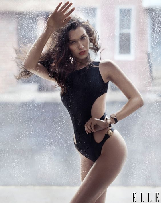 Белла Хадид на обложке Elle (Интернет-журнал ETODAY)