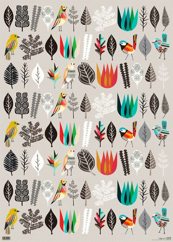 I want this wrapping paper wrapped with this wrapping paper as a present.  inaluxe