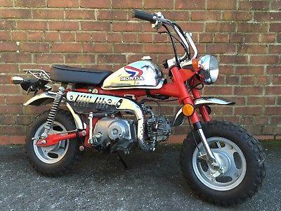 Ebay 1981 Honda Z50 Monkey Bike Genuine Chrome Mini Bike Kid S Child S Motorcycle Mini Bike Motorcycle Honda