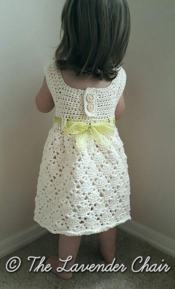 Wunderschön... Häkelkleidung für Mädchen...Inspiration ...